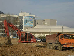 Земляные работы Разработка и вывоз грунта отвал