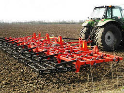 Услуги по обработке земли услуги компактомата борон трактора