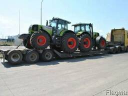 Услуги аренда трала перевозка комбайна трактора экскаватора