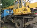 Услуги автокрана 14-16 тонн - фото 2