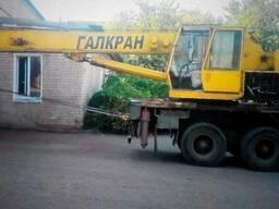 Услуги автокрана 25-30тонн 22-38м