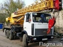 Услуги автокрана 32 тонн Харьков
