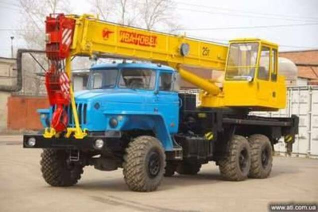 Услуги автокрана Киевская область и Киев, на любой срок