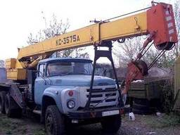Услуги автокрана КС 3575 10 тонн