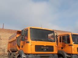 Услуги автомобиля самосвал МАН 25-30 тонн