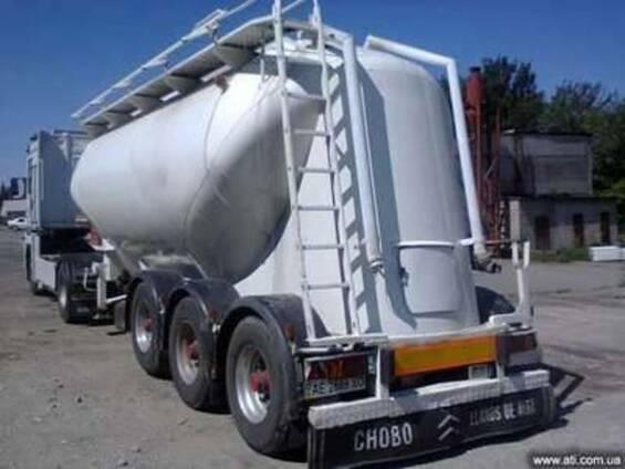 Услуги цементовоза с компрессором