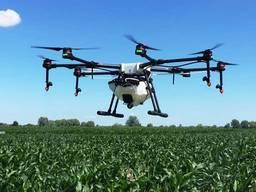 Услуги дрона по опрыскиванию полей