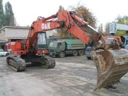 Услуги экскаватора гусеничного O & К RH6-22(ковш 1,5м3)