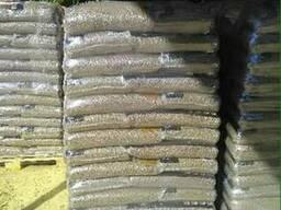 Услуги фасовки пеллет древесных в мешки от 5-40кг.