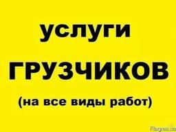 Услуги грузчиков, грузчики в Одессе