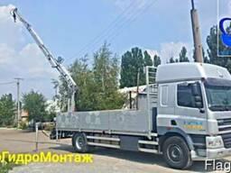 Услуги и аренда крана манипулятора 12, 5т. Новомосковск