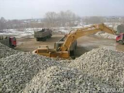 Услуги и доставки щебня и песка