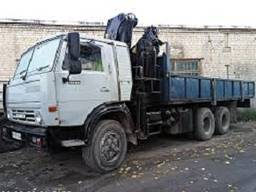 Услуги крана манипулятора 10т ломовоз вывоз мусора