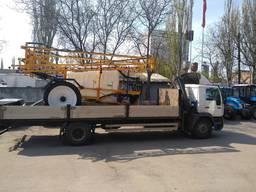 Услуги крана-манипулятора МАН, грузоперевозки до 12 тонн
