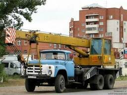 Услуги крана по Киеву и Киевской области,