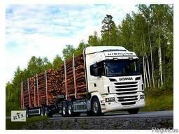 Услуги лесовоза тягач прицеп , камаз 4310