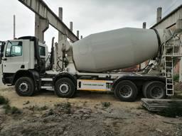 Услуги миксер, автобетоносмесителя, доставка бетона