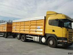 Услуги в перевозке сельхозпродукции с Донецкой обл в Россию
