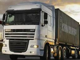 Услуги по перевозке зерновых культур и наливных грузов