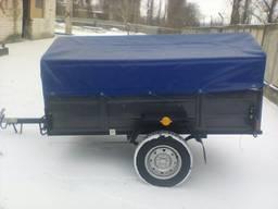 Услуги перевозки легковое авто с прицепом