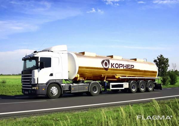 Перевозки топлива | Транспортировка ГСМ | Услуги бензовоза