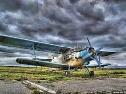 Самолет для десикации