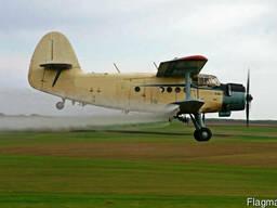 Услуги по опрыскиванию полей авиацией