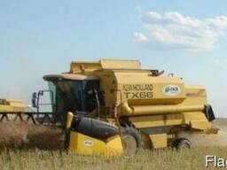 Услуги по уборке всех видов зерновых культур