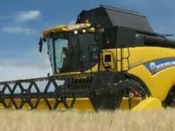 Услуги по уборке зерновых подсолнечника кукурузы рапса горох