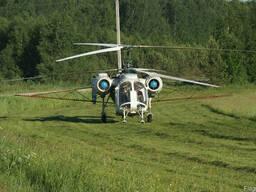 Услуги по внесению бискайя вертолетом