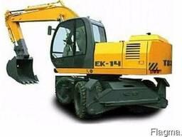 Услуги полноповоротного экскаватора ЕК-14