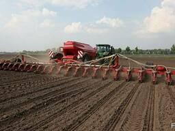 Услуги посева сои кукурузы подсолнуха зерновых рапса сеялка