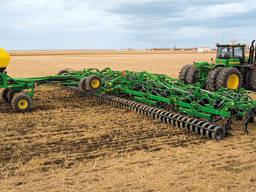Услуги посева зерновых.