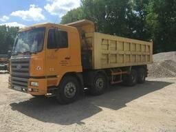 Услуги самосвалов 6-40 тонн