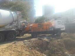 Услуги стационарного бетононасоса