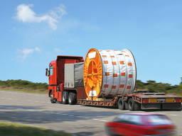 Услуги трала для перевозки негабарита тралом