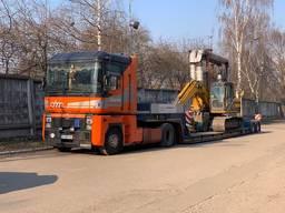 Услуги трала, грузоперевозки тралом, перевозка негабарита