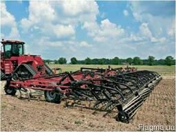 Услуги вспашки дисковки культивации земли аренда трактора