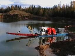 Услуги земснаряда , почистить намыть углубить сделать пруд