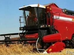 Услуги зерноуборочного комбайна «Палессе gs12» и «Дон-1500»