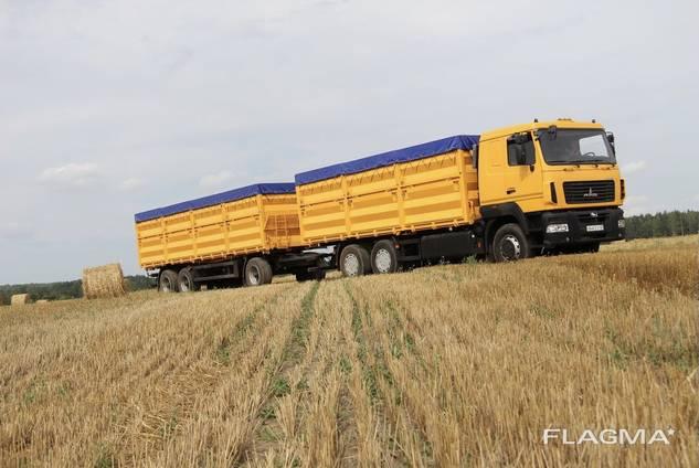 Услуги зерновозов. Очень хорошие цены!