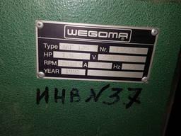 Усорезный фрезерный станок WEGOMA AKF 125 для ПВХ и алюминиевых окон