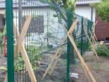 Забор панельный секционный 3D - фото 4