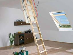 Мансардные окна, чердачные лестницы Fakro, Velux, Roto