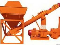 Установка для выгрузки цемента из хопров 30 м³/ч