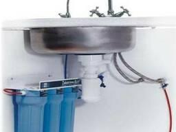 Установка фильтров грубой и тонкой очистки воды