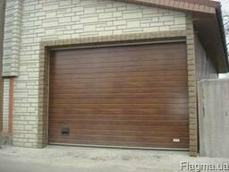 Установка гаражных ворот всех видов.