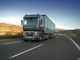 Установка гидравлики на тягач Renault