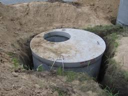 Выгребная яма из колец (Одесса)