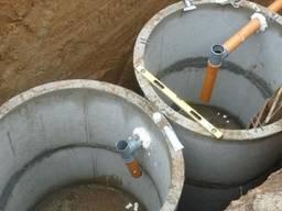 Установка канализации и водопровода